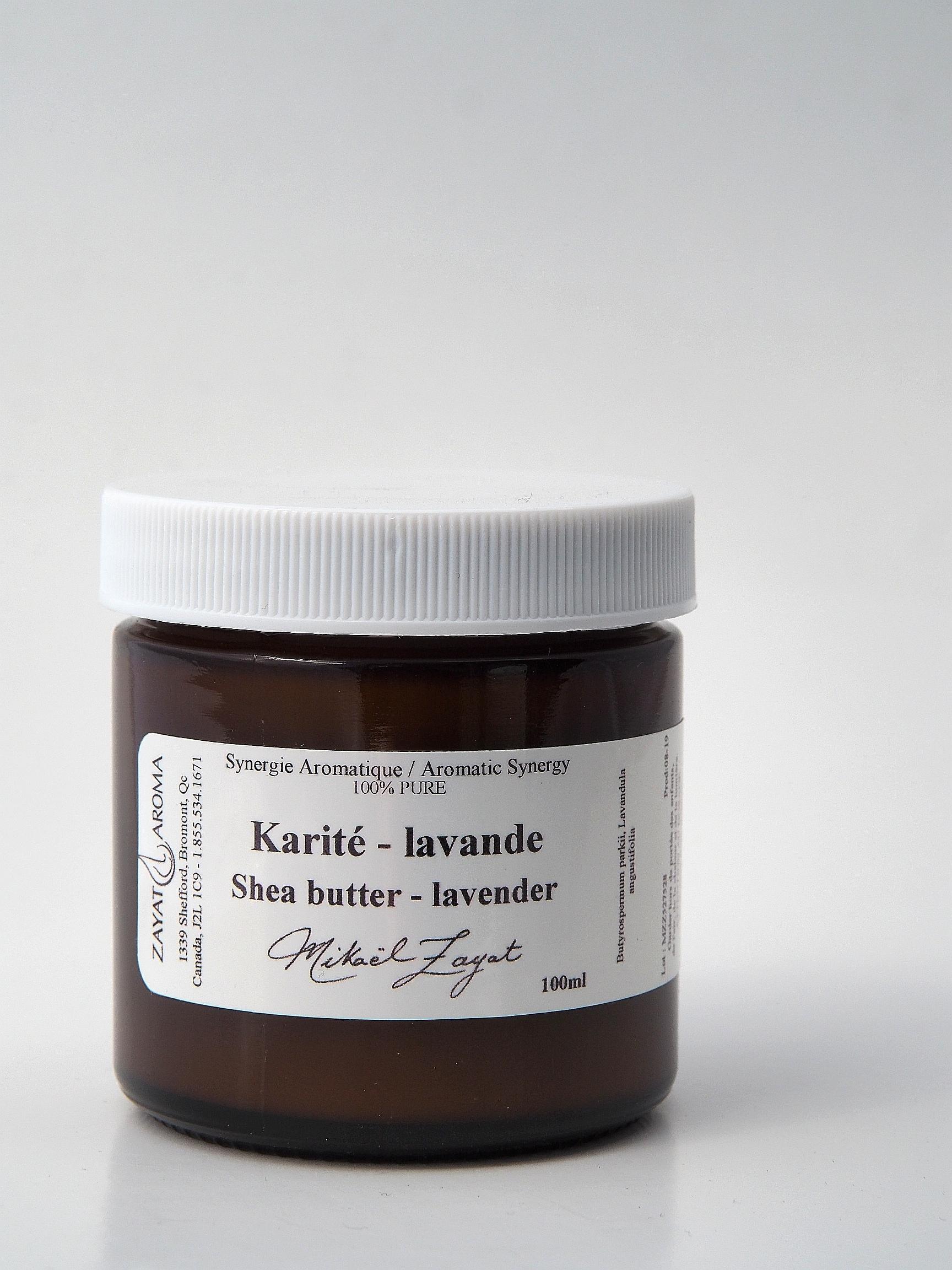 Karité lavande shea butter lavender