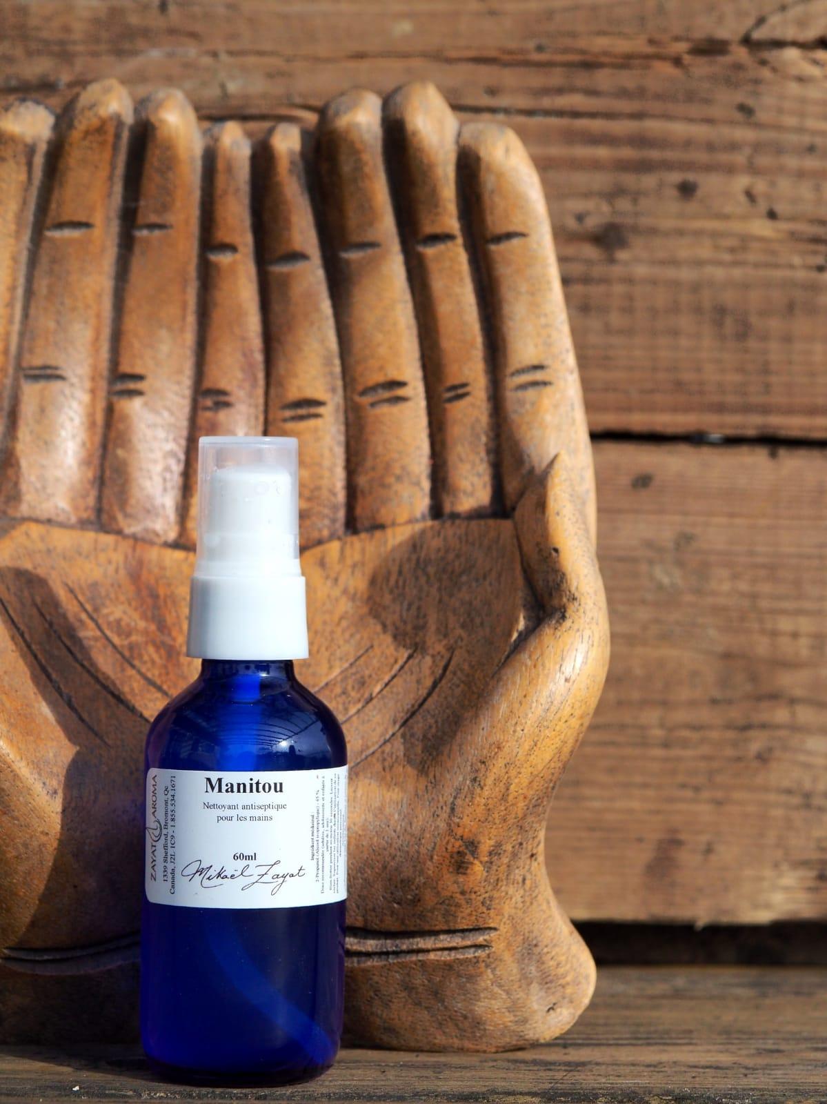 nettoyant pour les mains antiseptique manitou hand sanitizer