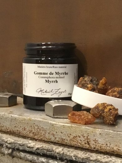 Gomme de myrrhe